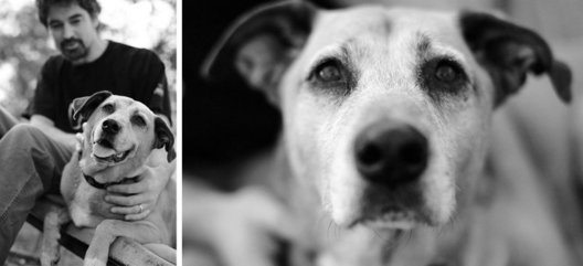 Texas Howlers is an ongoing project I began in 2006. A series of Central Texas musicians with their dogs, which so far as culminated in a gallery show and five annual calendars to benefit Austin based, Blue Dog Rescue.