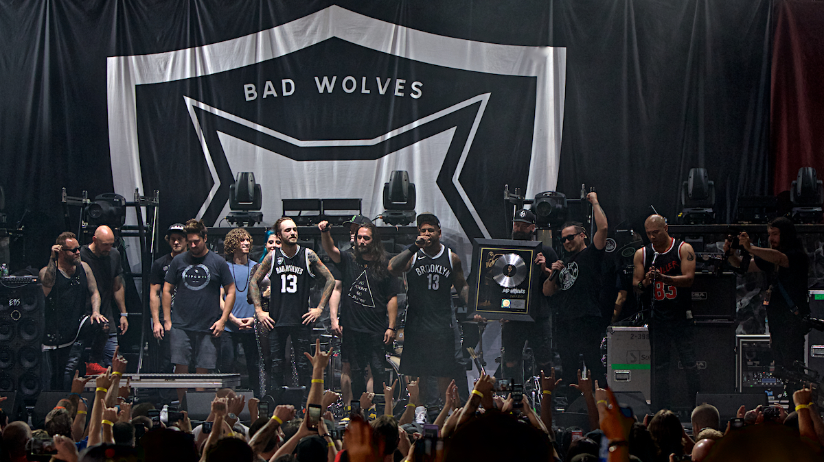 Bad Wolves BB&T Pavilion  Camden, NJ August 15, 2018  DerekBrad.com