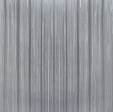 Poured Oil, Enamel, Graphite on Linen
