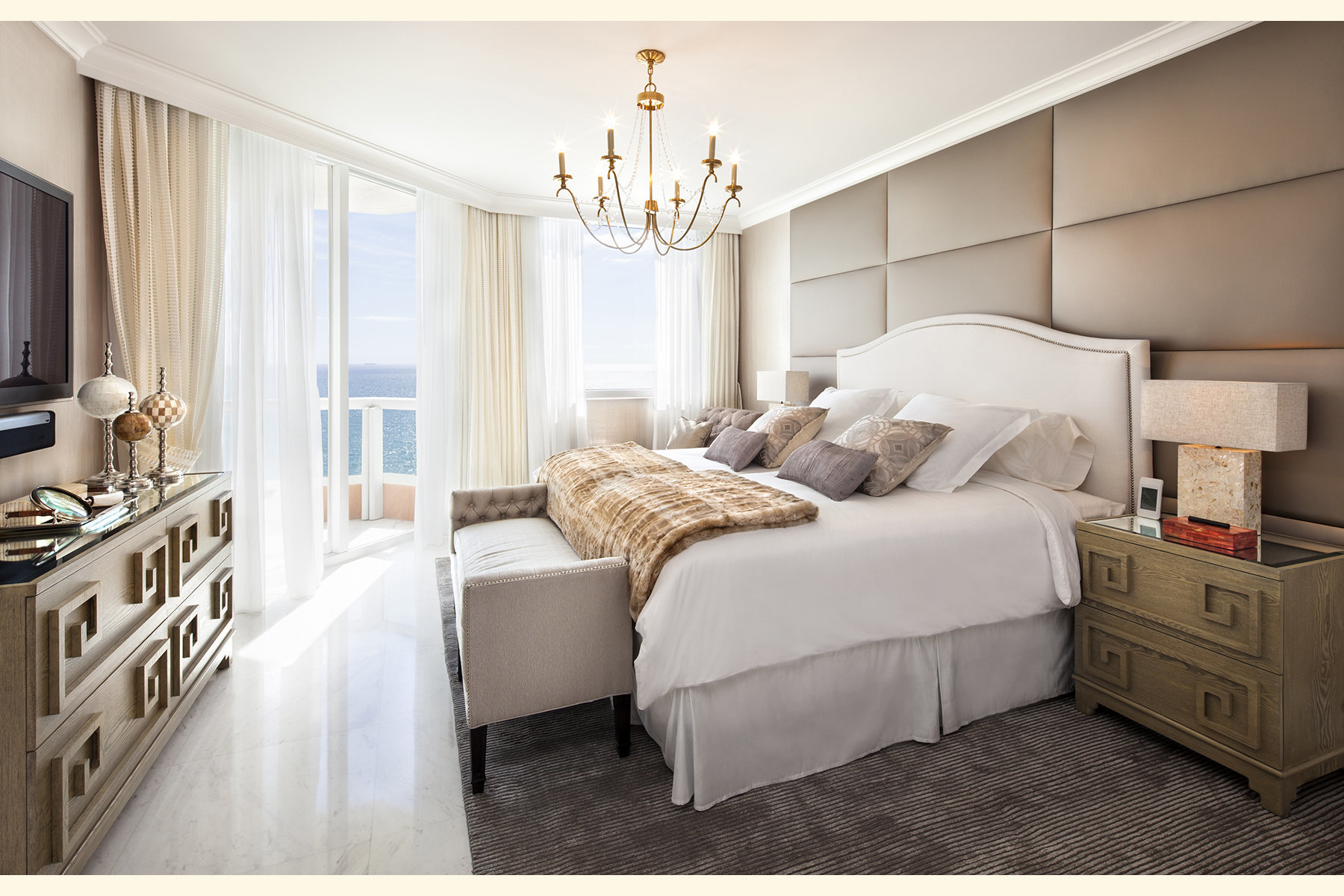 Greenhill Residence at Acqualina for Sarah Z Designs