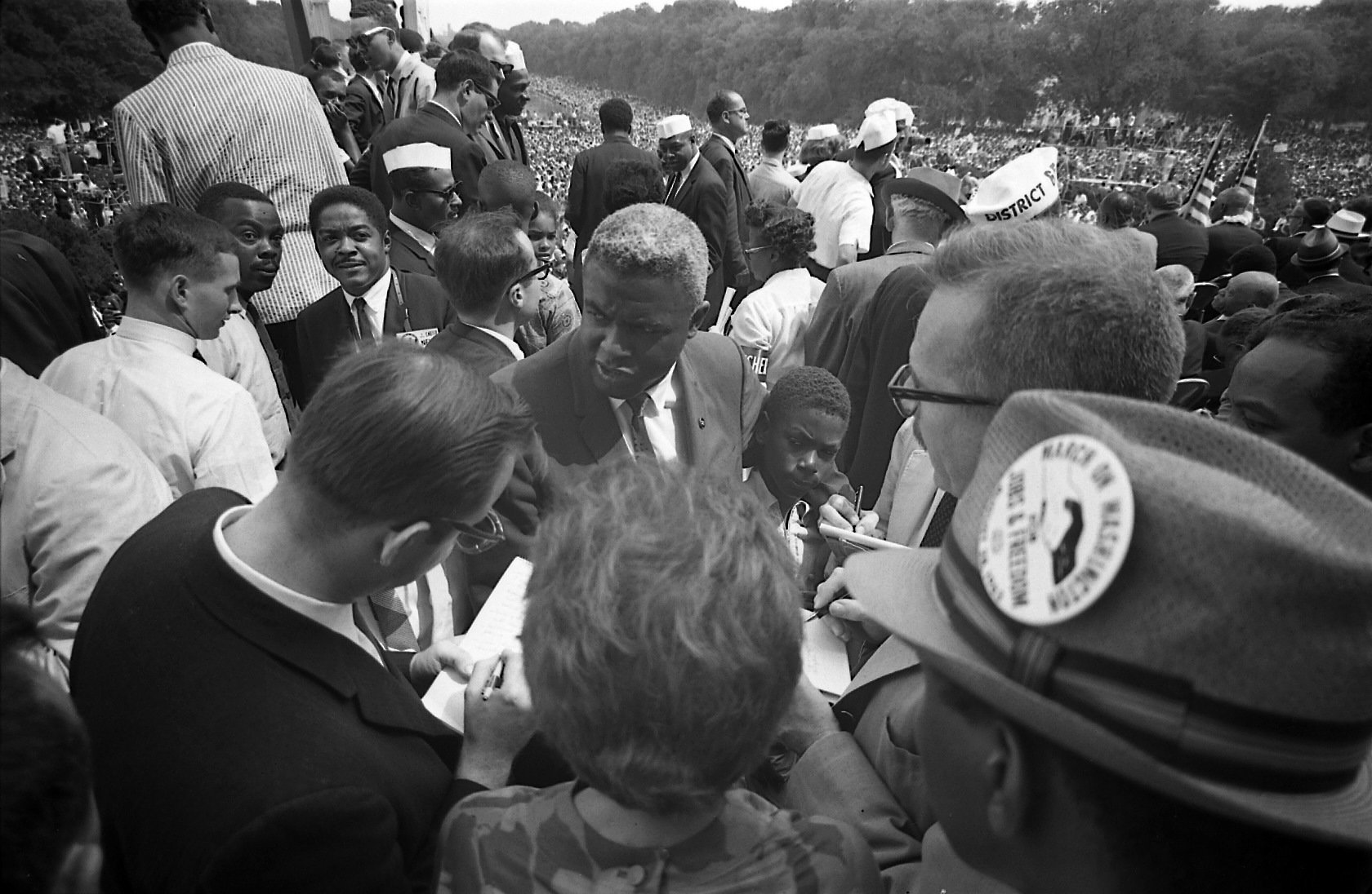 Participating in the March on Washington 1963
