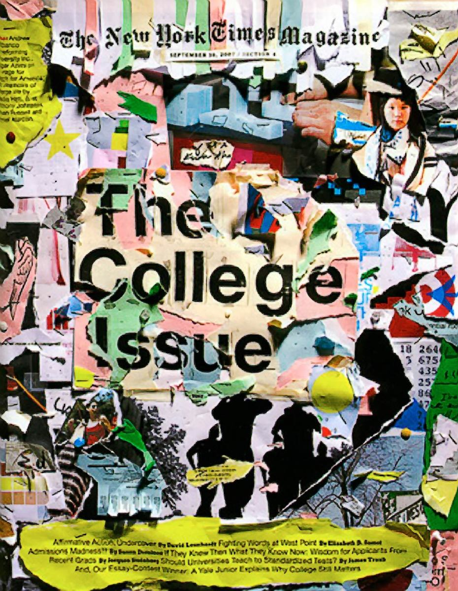 college collage I made