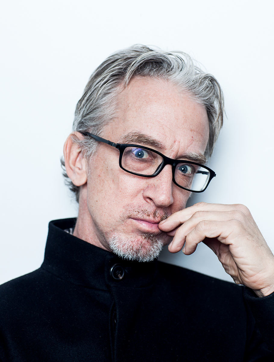 Andy Dick, Actor and Comedian, photographed in his home, Woodland Hills, CA