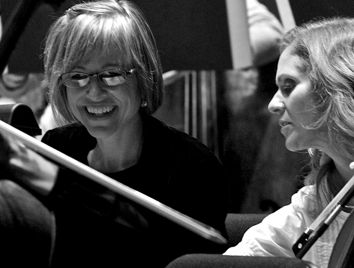 Women Warriors: The Voices of Change Orchestra Moderne NYC  Rehearsal Alice Tully Theater New York, NY September 20, 2019  DerekBrad.com