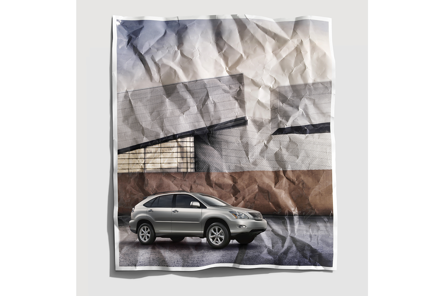 Lexus 'Wrinkled' / Team One / Planet Moore Photography