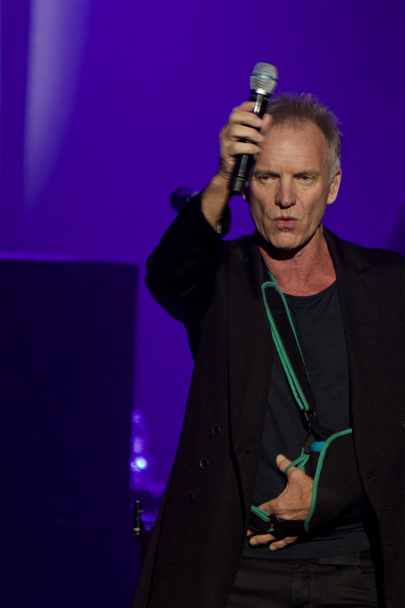 Sting  My Songs The Met (Sold Out) Philadelphia, Pa November 17, 2019  DerekBrad.com