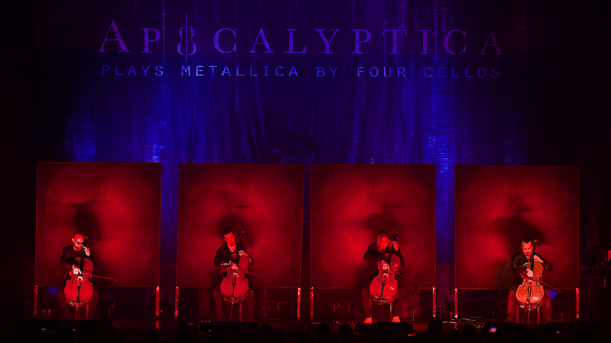 Apocalyptica Plays Metallica by Four Cellos Keswick Theatre Glenside, Pa May 29, 2019  DerekBrad.com
