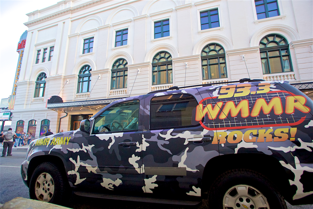 WMMR Rock Truck The Met Philadelphia, Pa September 25, 2019  DerekBrad.com