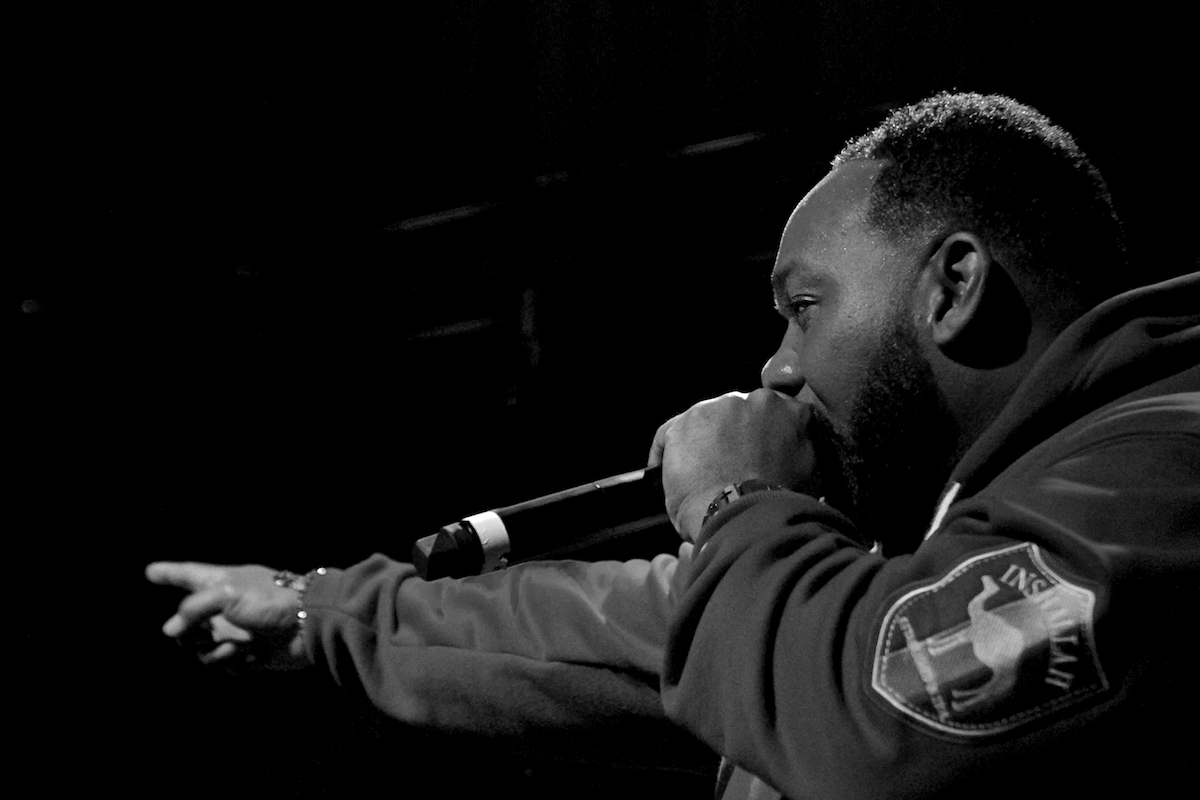 Raekwon The Ardmore Music Hall Ardmore, Pa February 22, 2018  DerekBrad.com