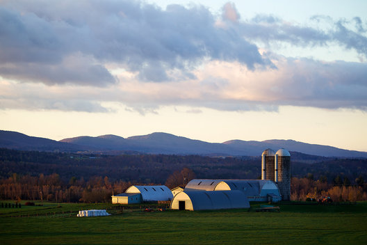 Farm along rte 100 near Newport, VT