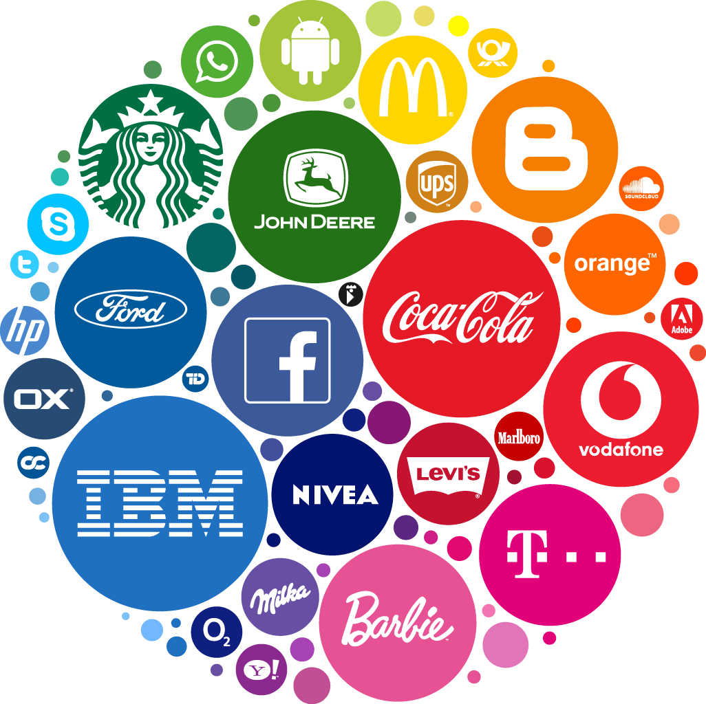 logos of various brands