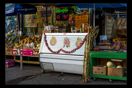 produce store, Jackson Heights