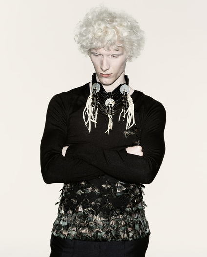 Mens Fashion Shot by Simon Thiselton, Styling: Simon Foxton