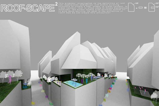 ROOFSCAPE PUBLIC SPACE COMPETITION | TOKYO