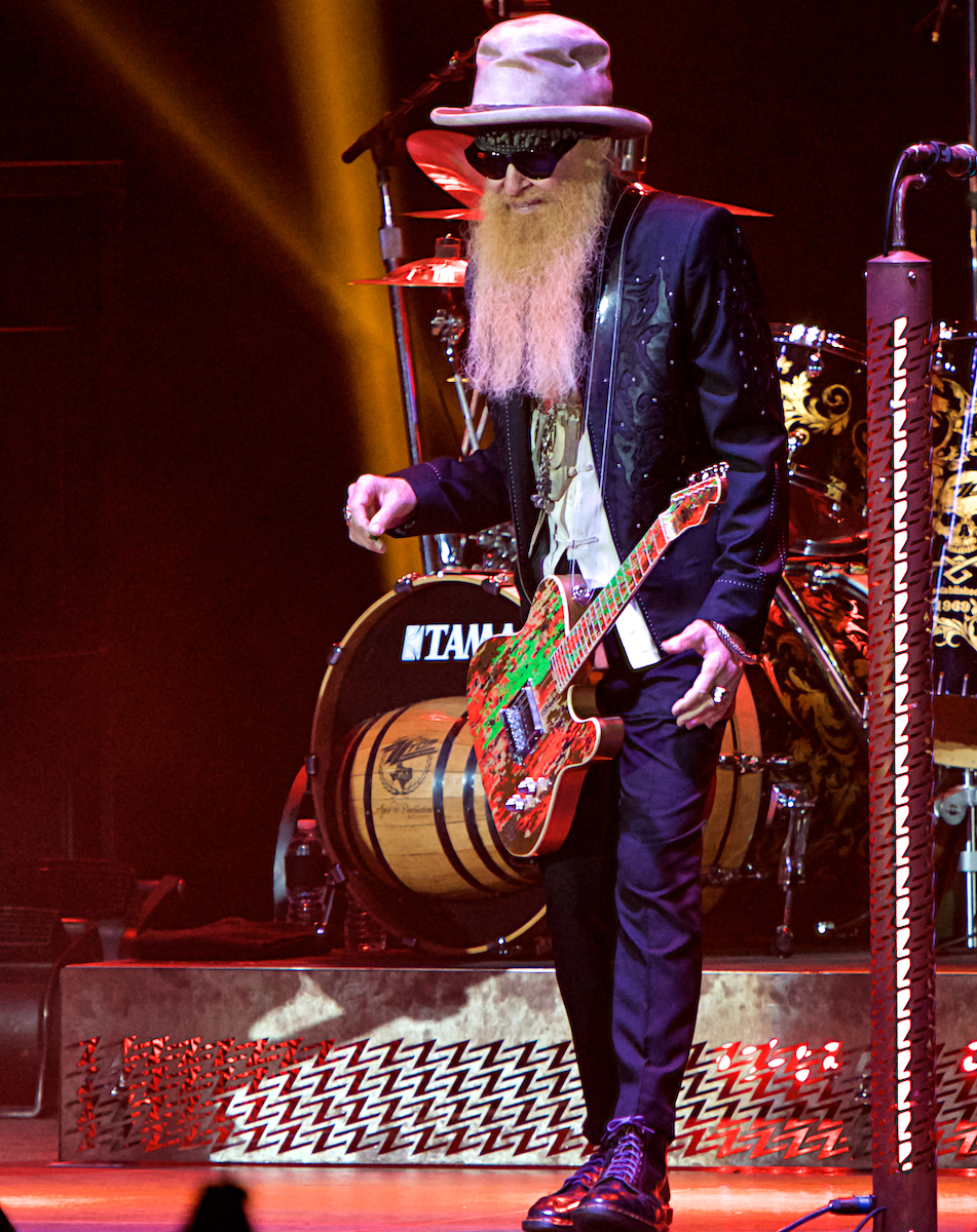 ZZ Top 50th Anniversary Tour BB&T Pavilion Camden, NJ August 15, 2019  DerekBrad.com