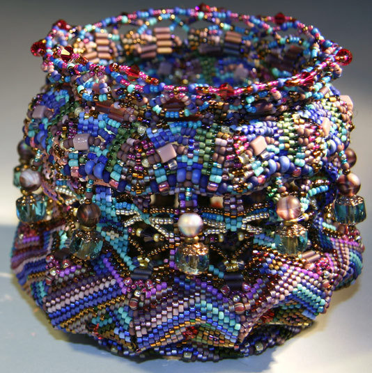 2007, materials: beads, semi-precious stones, precious metals, glass, thread