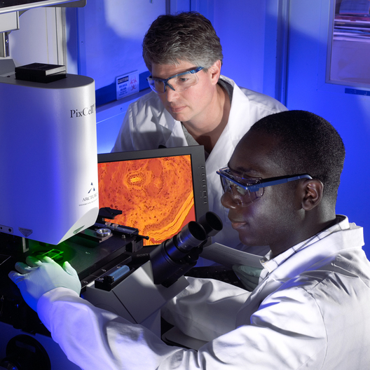 L to R: John Midgett, Kofi Mensah