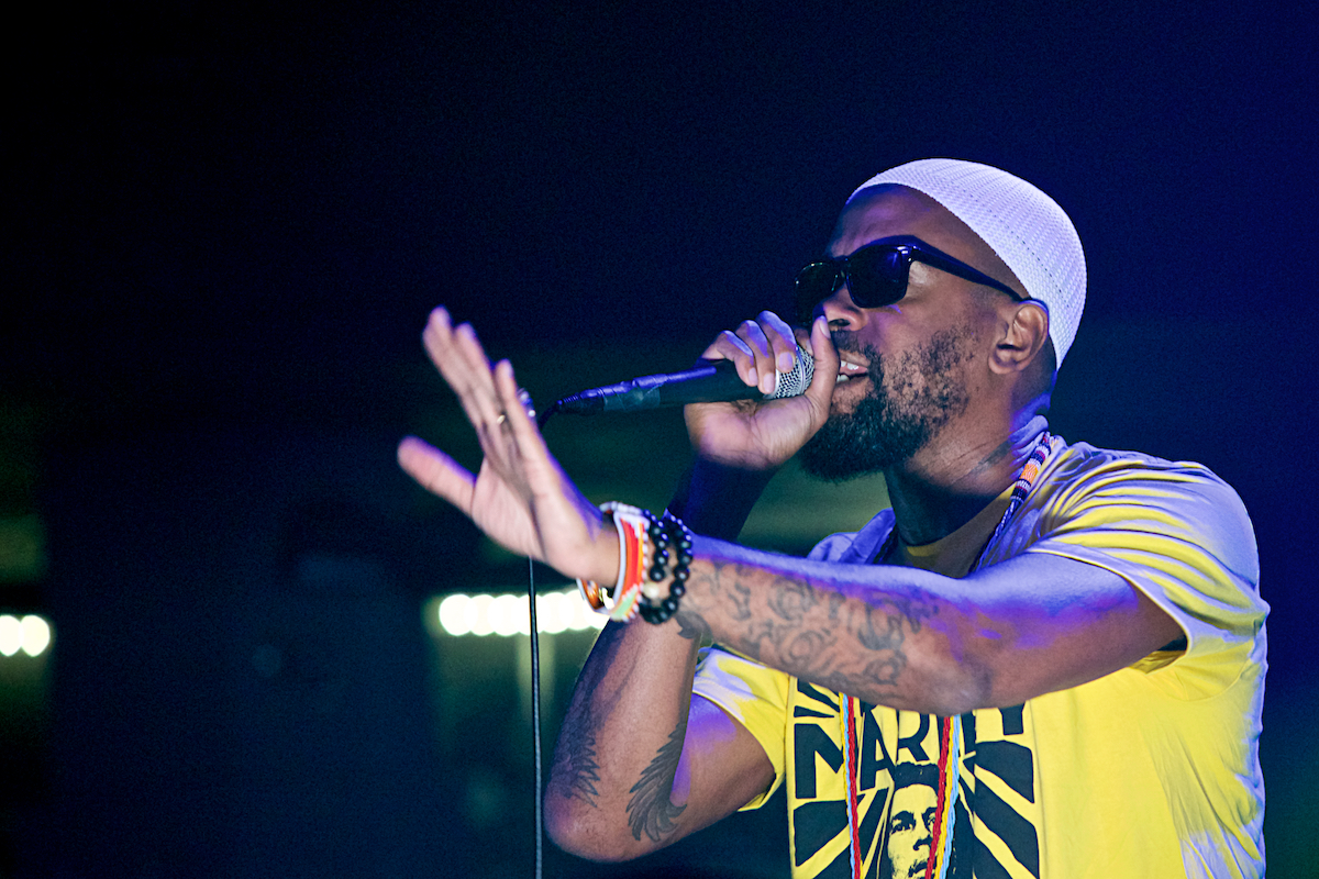 Dead Prez AMH & Walking Bear Productions Presents: The Ardmore Music Hall Ardmore, Pa July 20, 2018  DerekBrad.com