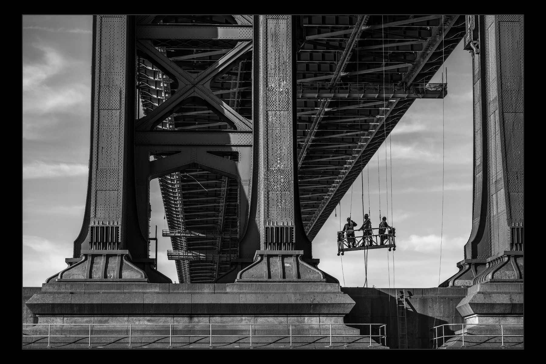 Workers, Manhattan Bridge.