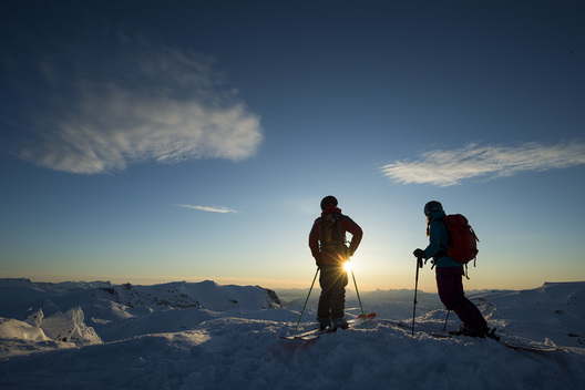 Callum Pettit, Izzy Lynch, Abisko, Sweden