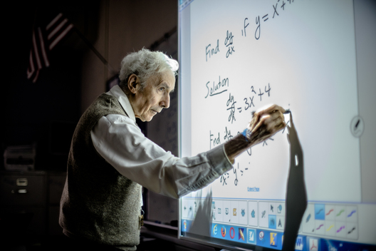 Six decades ago Louis Kokonis began his career as a teacher with ACPS. Now, at 86 years of age, more than twice the age of his fellow teachers, he's still going strong with no plan to retire anytime soon.