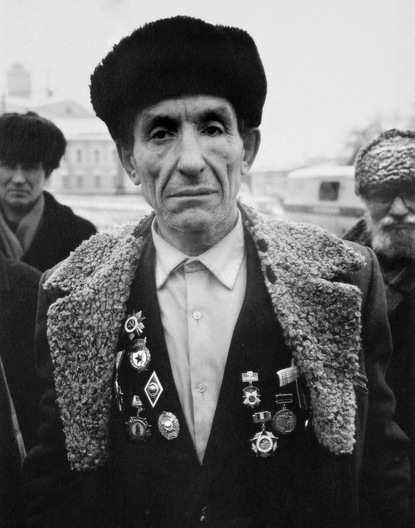 World War II veteran - Moscow
