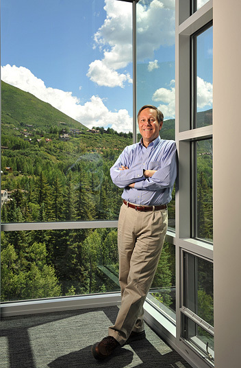 Dana Gioia, former head of NEA, will take over as director of Aspen Institute. Michael Brands for The New York Times.