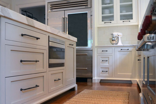 White Kitchen Custom Cabinetry, Wolf Subzero Appliances