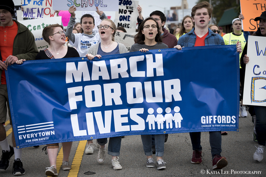 """March for Our Lives,""  Columbia S.C.  Student organized rally for gun control after the events in Parkland Florida"