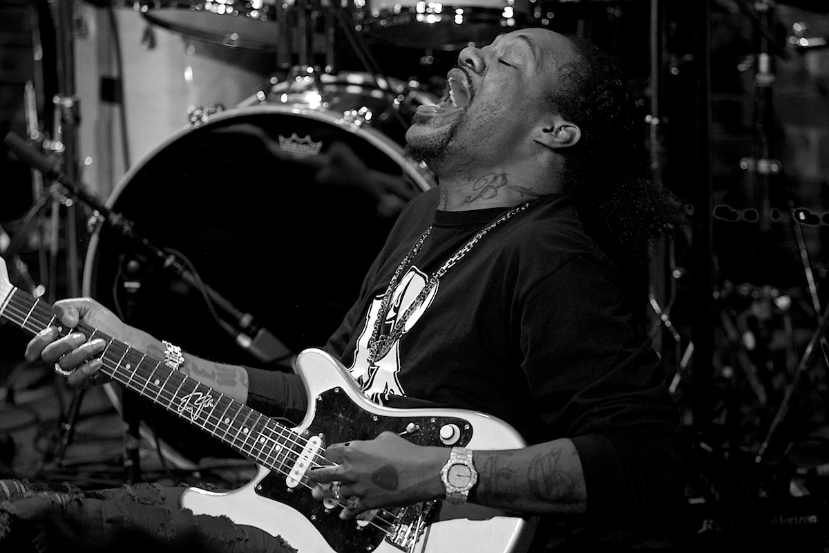 Eric Gales Eric Gales Band Iridium New York, NY January 30, 2018  DerekBrad.com