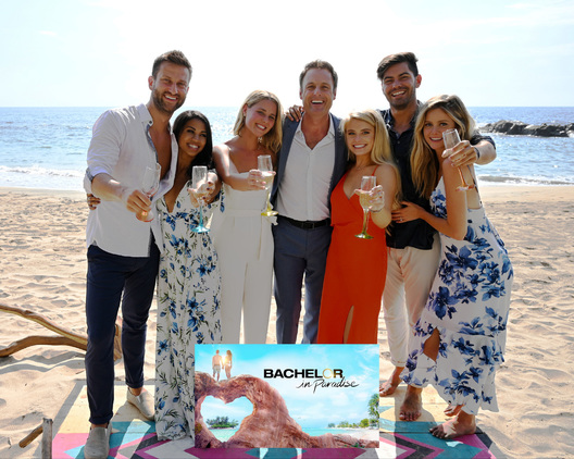 "BACHELOR IN PARADISE - ""607"" - In a moving and stunning three-hour season finale, Chris Harrison and a studio audience watch as the four remaining couples - Demi and Kristian, Chris and Katie, Dylan and Hannah, and Clay and Nicole - spend one last night in the fantasy suites deciding if they are ready to take their relationships to the next level outside of Paradise. No one knows what the night will bring to these love-struck couples. Engagements, breakups and plenty of tears springing from both joy and heartbreak make for a compelling season finale to ""Bachelor in Paradise,"" TUESDAY, SEPT. 17 (8:00-11:00 p.m., EDT), on ABC. (ABC/John Fleenor)
