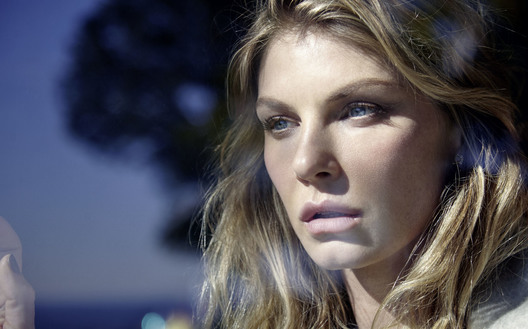 Shot by Lucian Bor, model Angela Lindvall