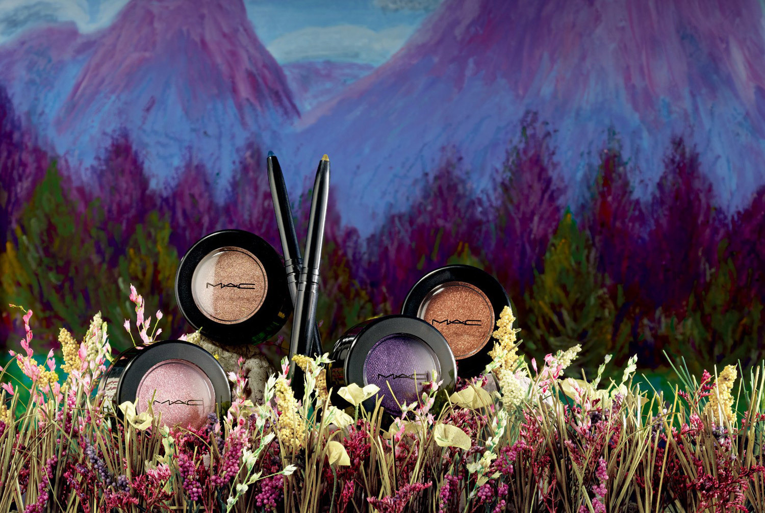 created for mac cosmetics- to match their novella beauty image