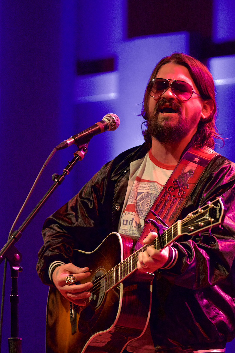 Shooter Jennings and Jason Boland Black Country Rock Tour World Cafe Live Philadelphia, Pa December 8, 2017  DerekBrad.com