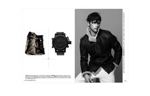Design concepts for Collateral Fall 'll: Men's cross channel book for corporate and direct divisions.  