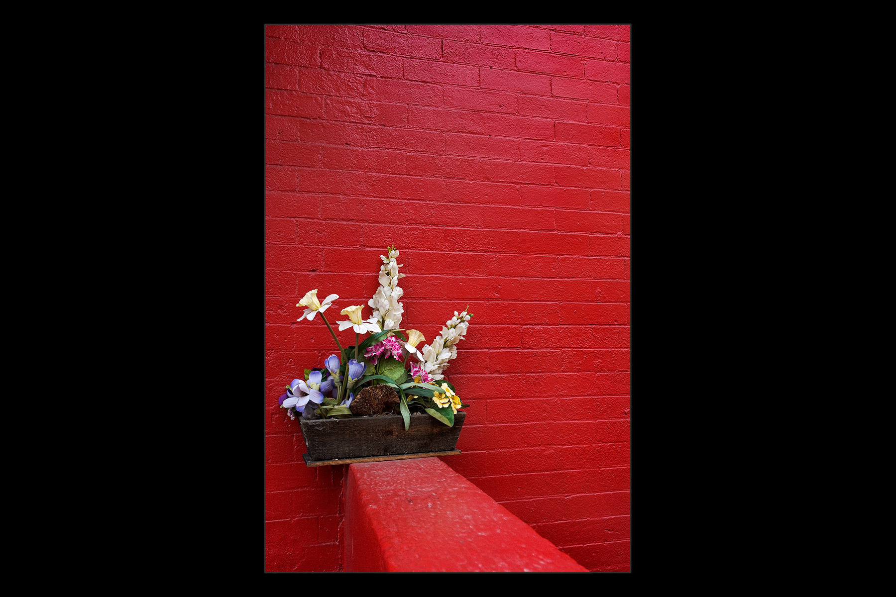 artificial flowers, Brooklyn