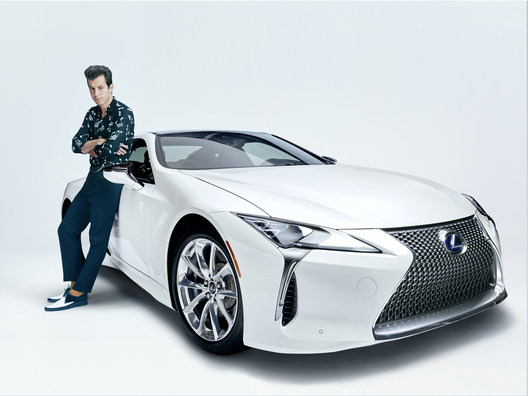 APRIL 11, 2017: Global music producer Mark Ronson collaborates with Lexus for Make Your Mark campaign to celebrate the launch of the new Lexus LC