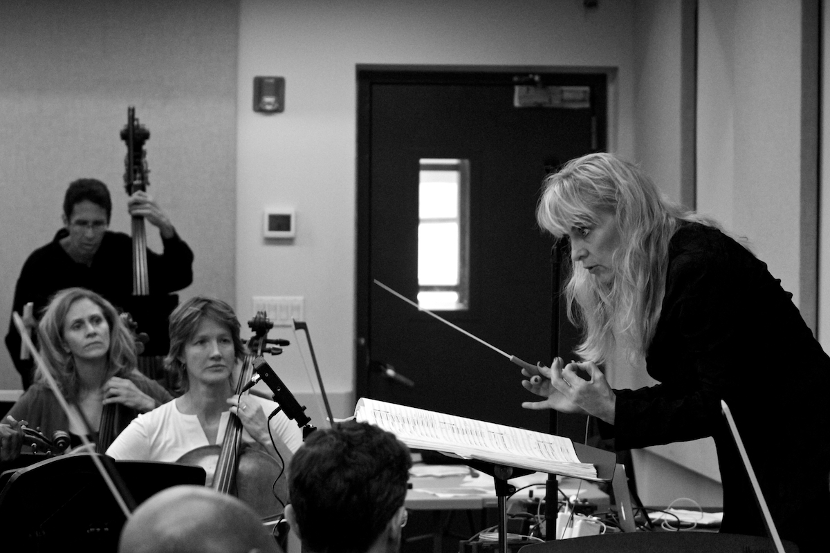 Women Warriors: The Voices of Change Orchestra Moderne NYC  Rehearsal Carroll Studios New York, NY September 19, 2019  DerekBrad.com
