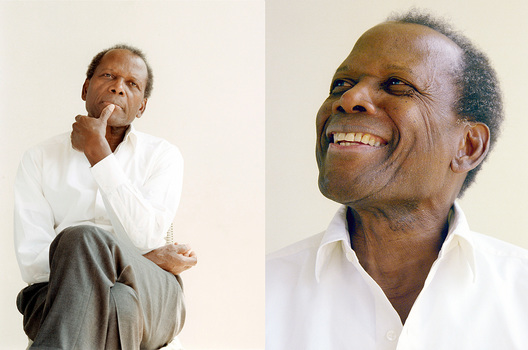 Sidney Poitier; The Observer magazine