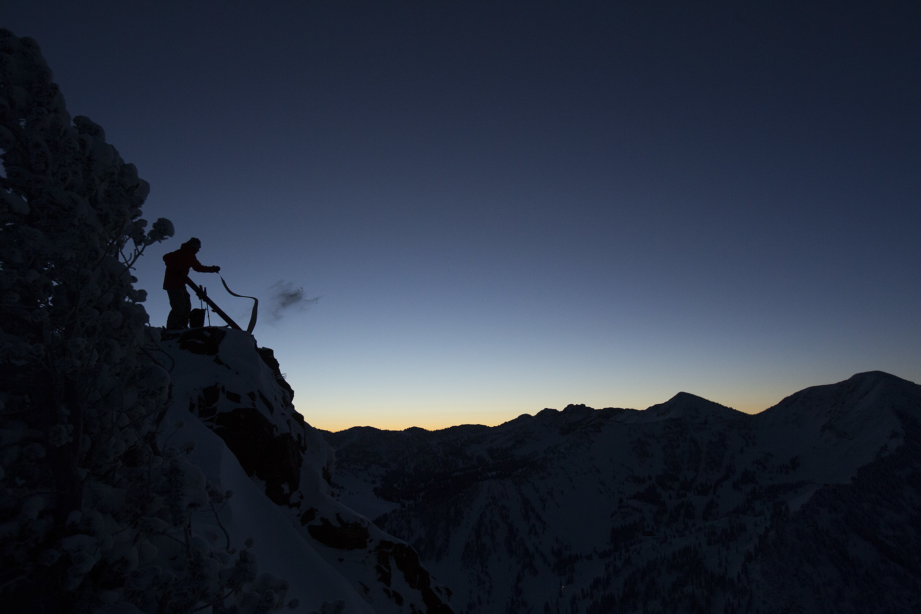 Sage Cattabriga-Alosa, Wasatch Backcountry, Utah