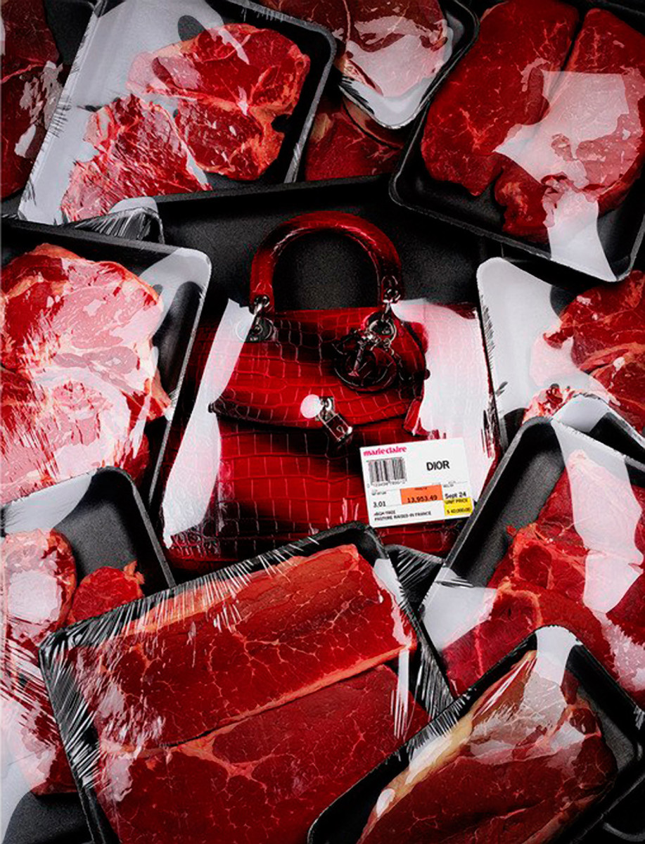 supermarket series - dior - food and accessories styling