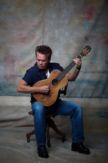 John Mellencamp in his converted barn studio, at home in Bloomington, Indiana, 8/26/10