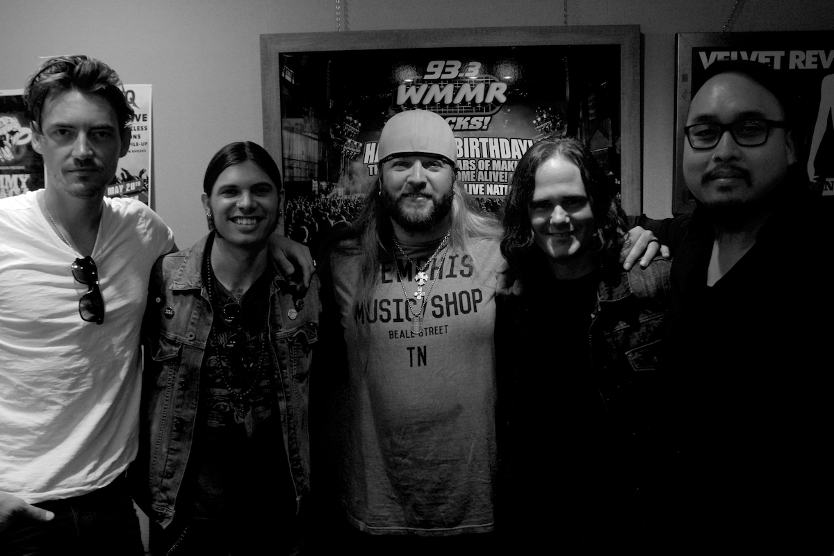 Mount Holly Day 2 93.3 WMMR Philadelphia, Pa High Street Studios Burlington, NJ September 15, 2017  DerekBrad.com