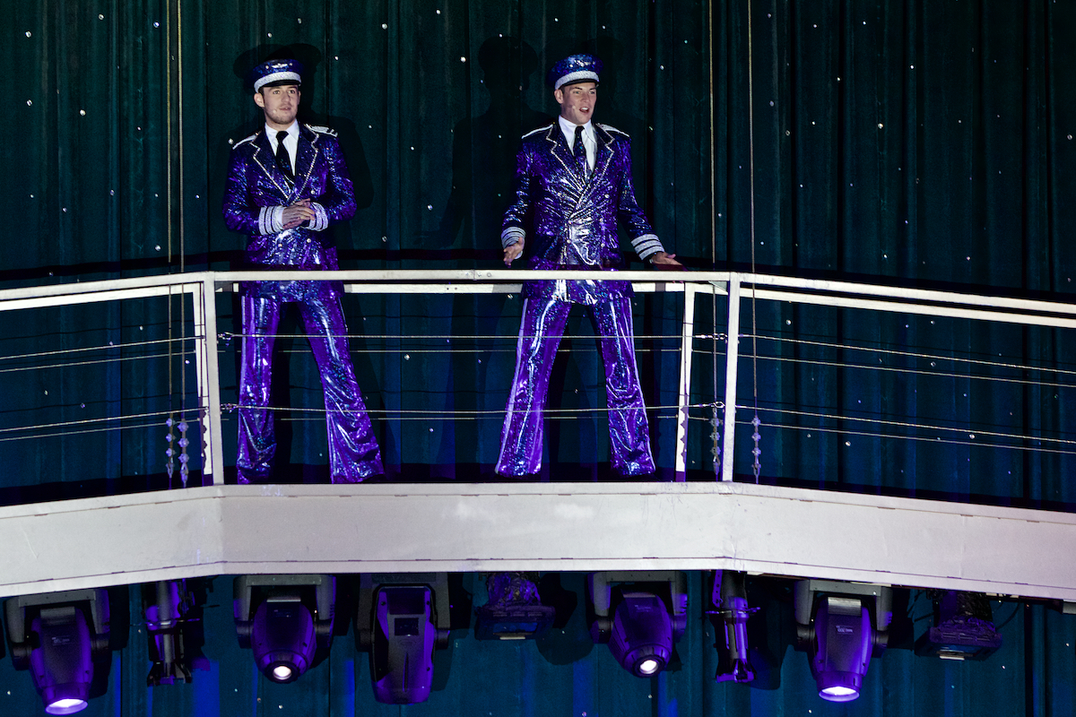 Come Fly With Me Oasis of the Seas Royal Caribbean International Opal Theater December 2018  DerekBrad.com