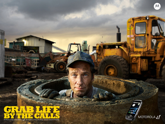 Mike Rowe for Motorola
