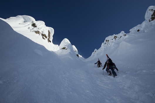 Griffin Post, Ian McIntosh, Tordrillo Mountains, Alaska