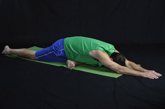 Hip opener & hamstring stretch