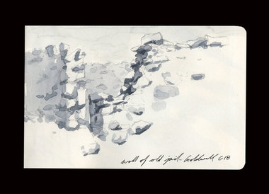 From my residency at the Goldwell Artists Residency in Rhyolite, NV