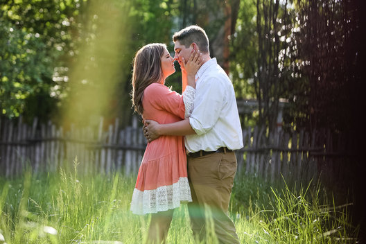 new harmony in engagement session