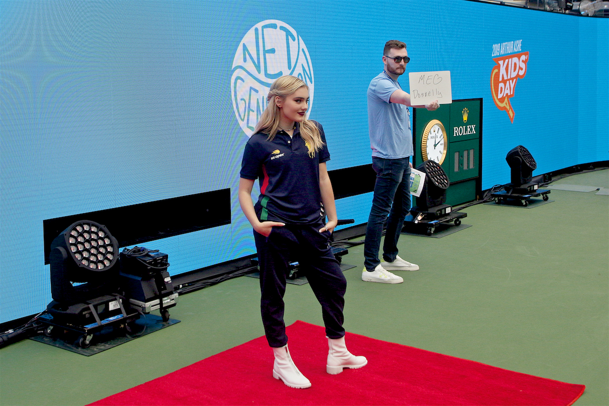 Meg Donnelly Arthur Ashe Kids